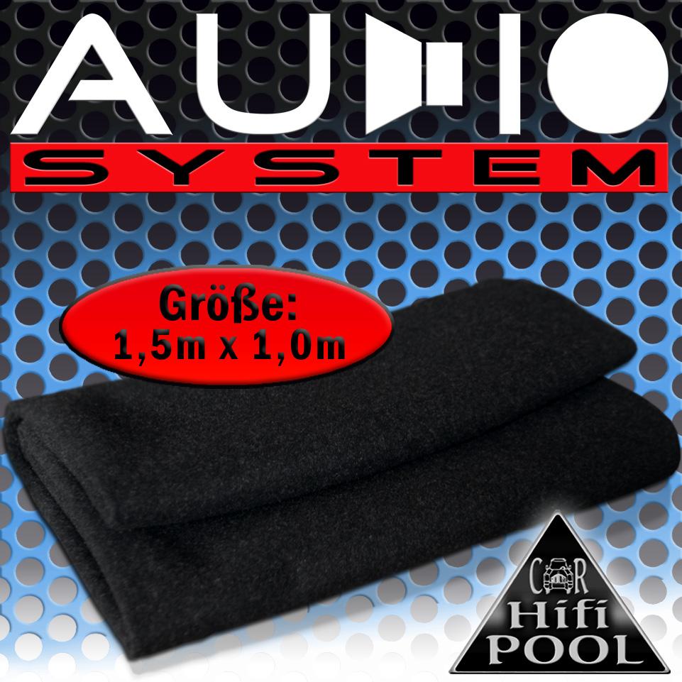 Audio System LT Lautsprecherteppich anthrazit  Teppich