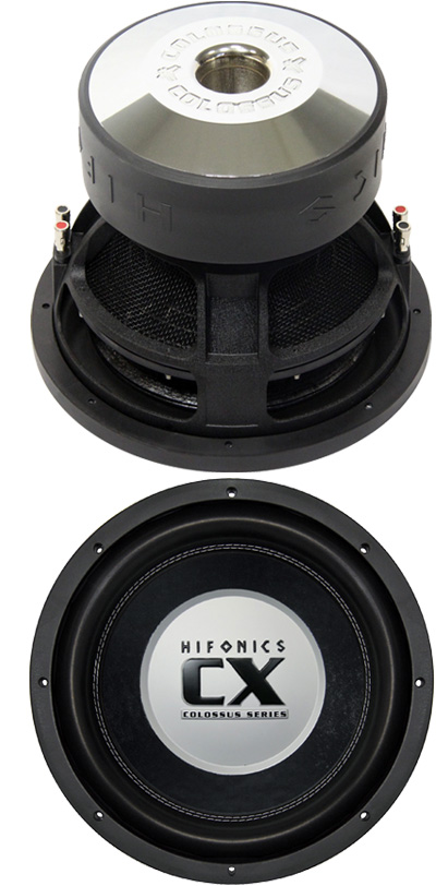 hifonics colossus cx 12 d2 2 2 ohm high end woofer. Black Bedroom Furniture Sets. Home Design Ideas