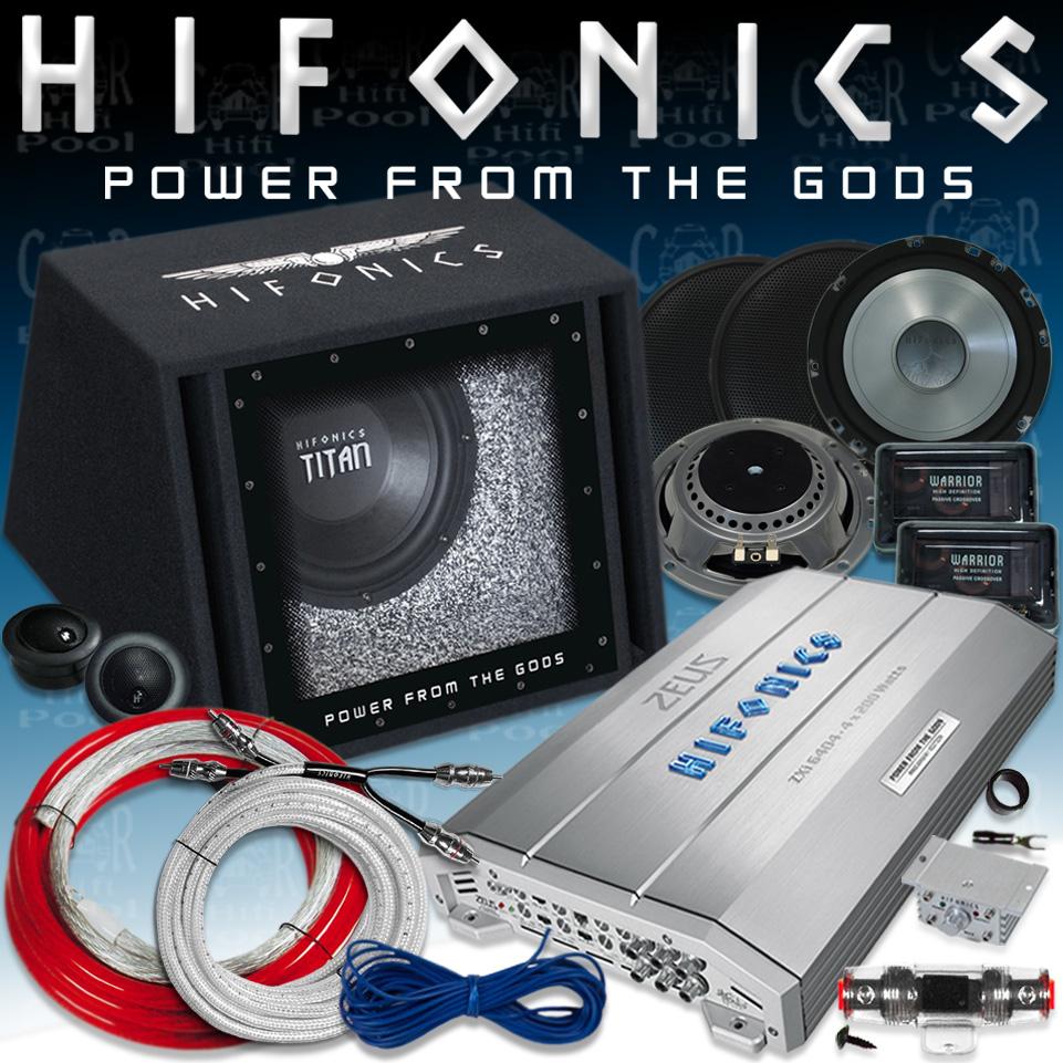 hifonics hf bp801 soundpack endstufe woofer basskiste. Black Bedroom Furniture Sets. Home Design Ideas